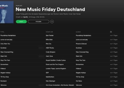 New Music Friday DE - 23.11.18_meine Ansicht