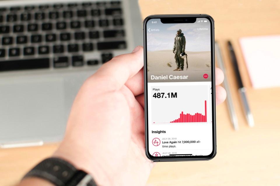 Apple Music Profil anpassen